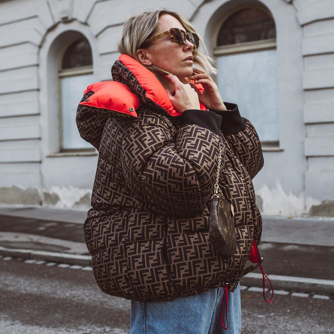 karin-teigl-fendi-logo-print-reversible-padded-shell-down-jacket-instagram