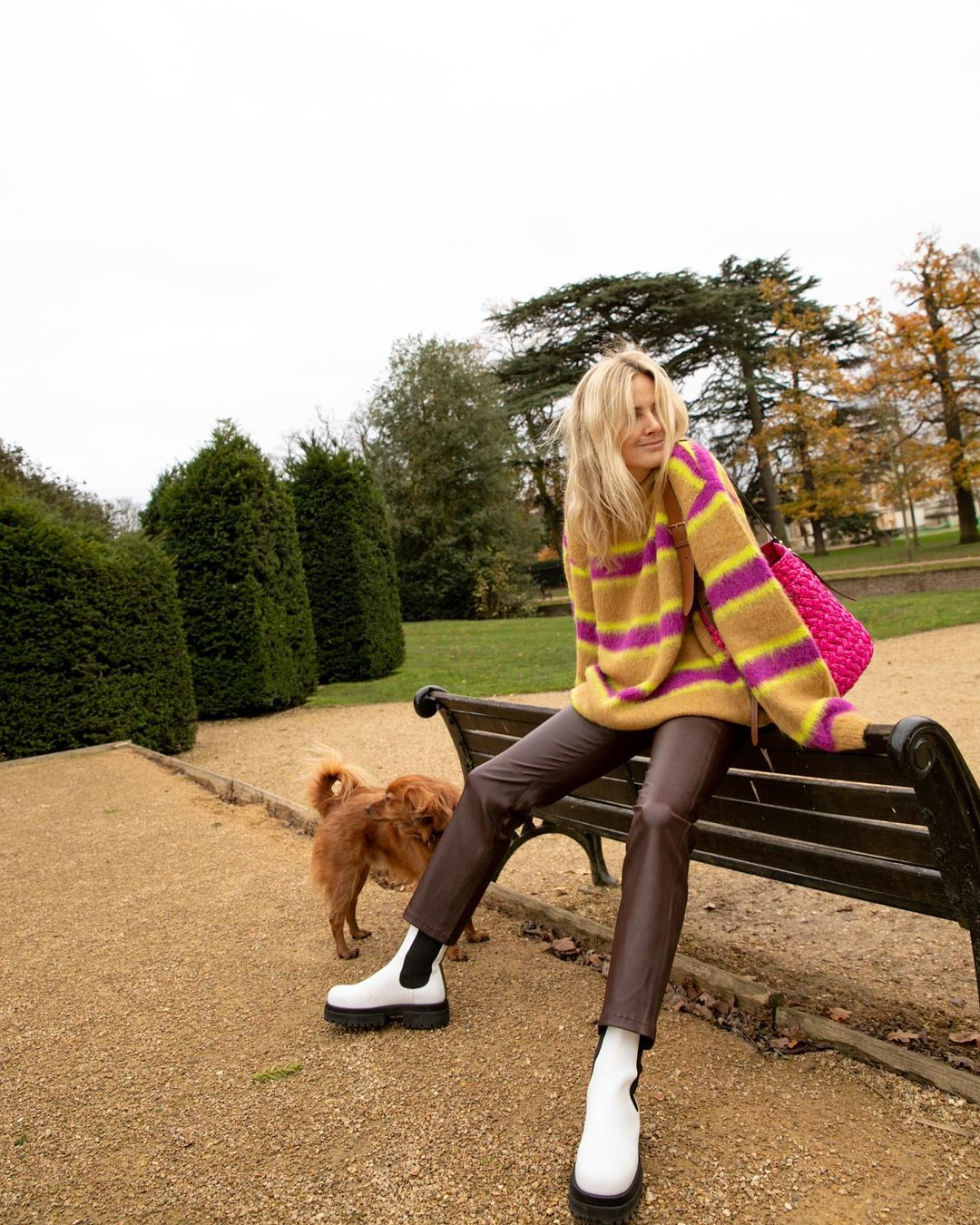 lucy-williams-andersson-bell-striped-knitted-sweater-instgaram