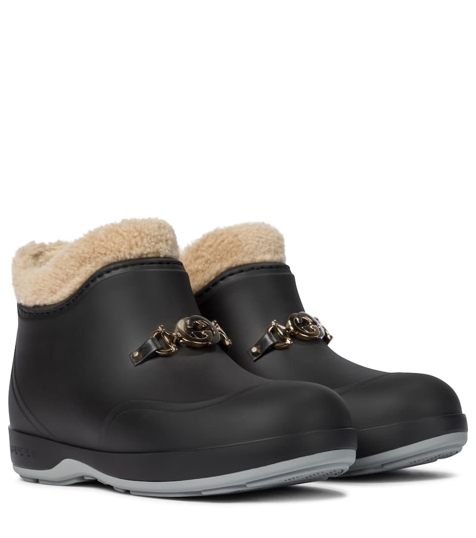 gucci-faux-shearling-rubber-ankle-boots