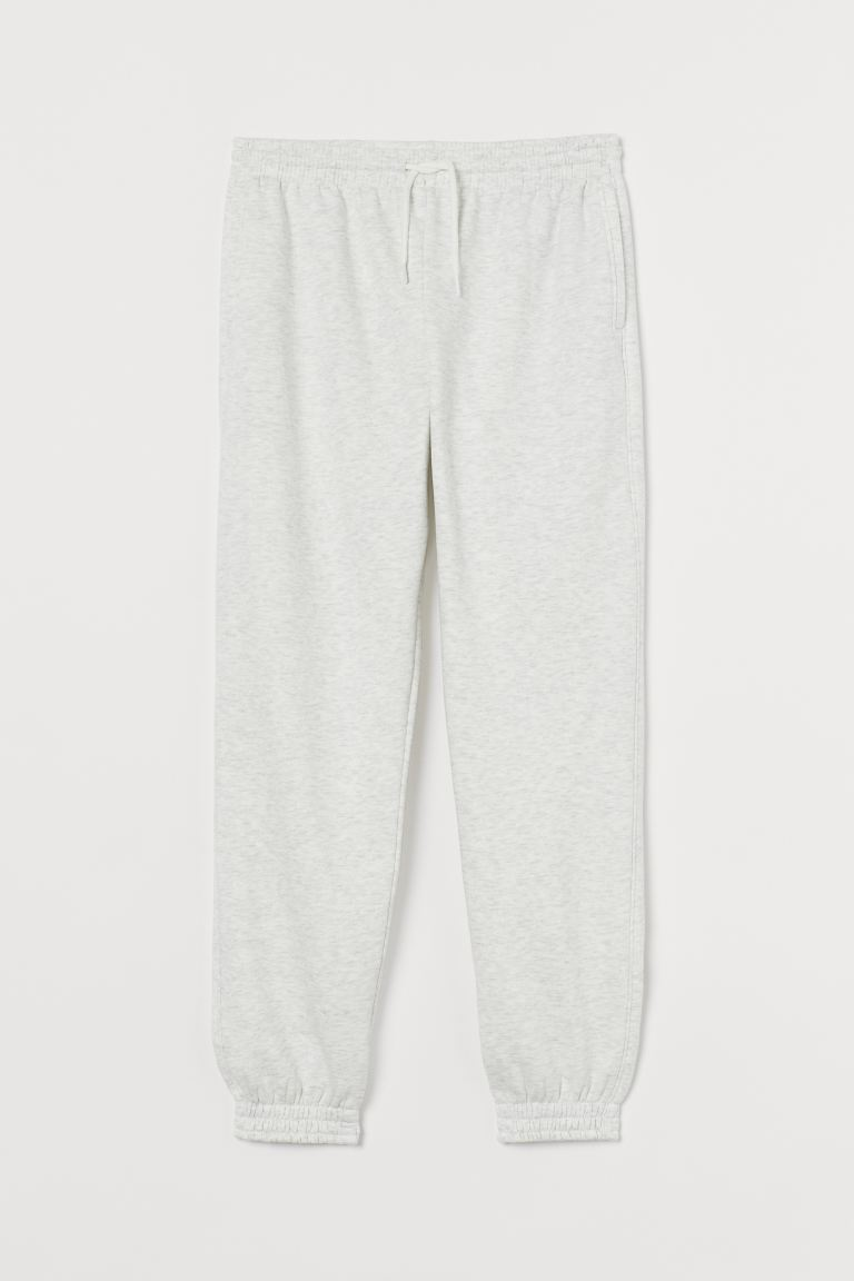 hm-joggers-high-waist-light-gray