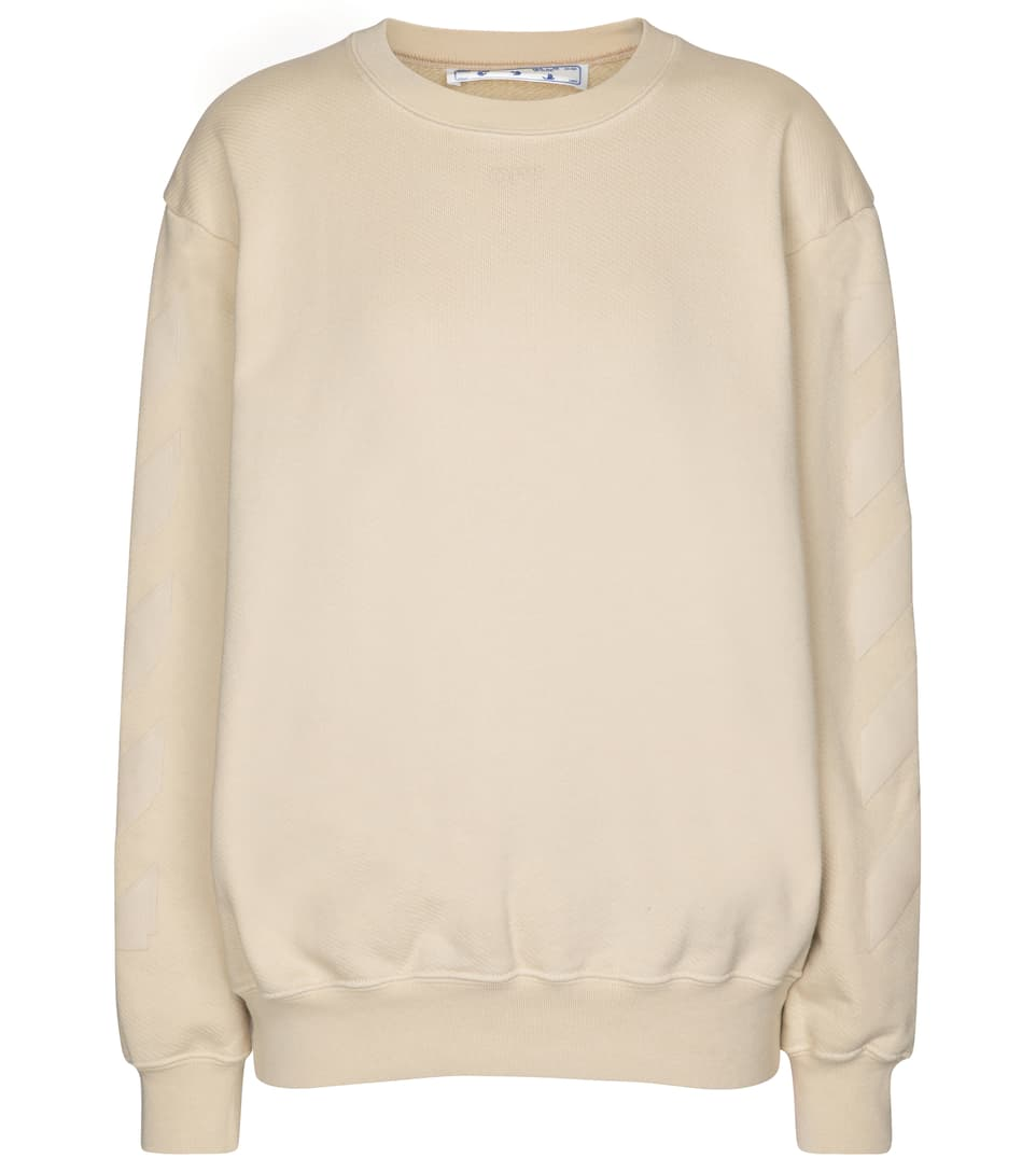 off-white-logo-cotton-jersey-sweatshirt-beige