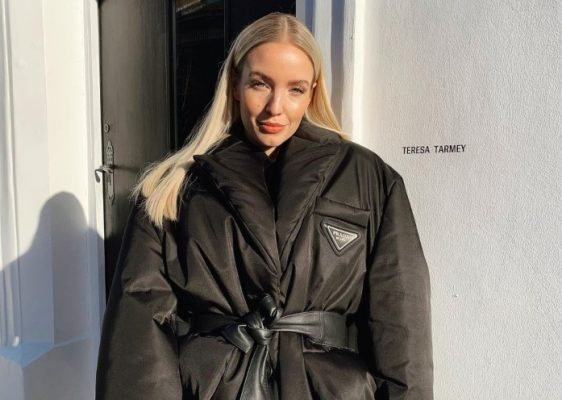 This recycled nylon coat is every fashion girl's favorite