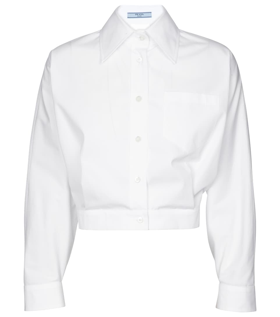 prada-cropped-cotton-shirt-white
