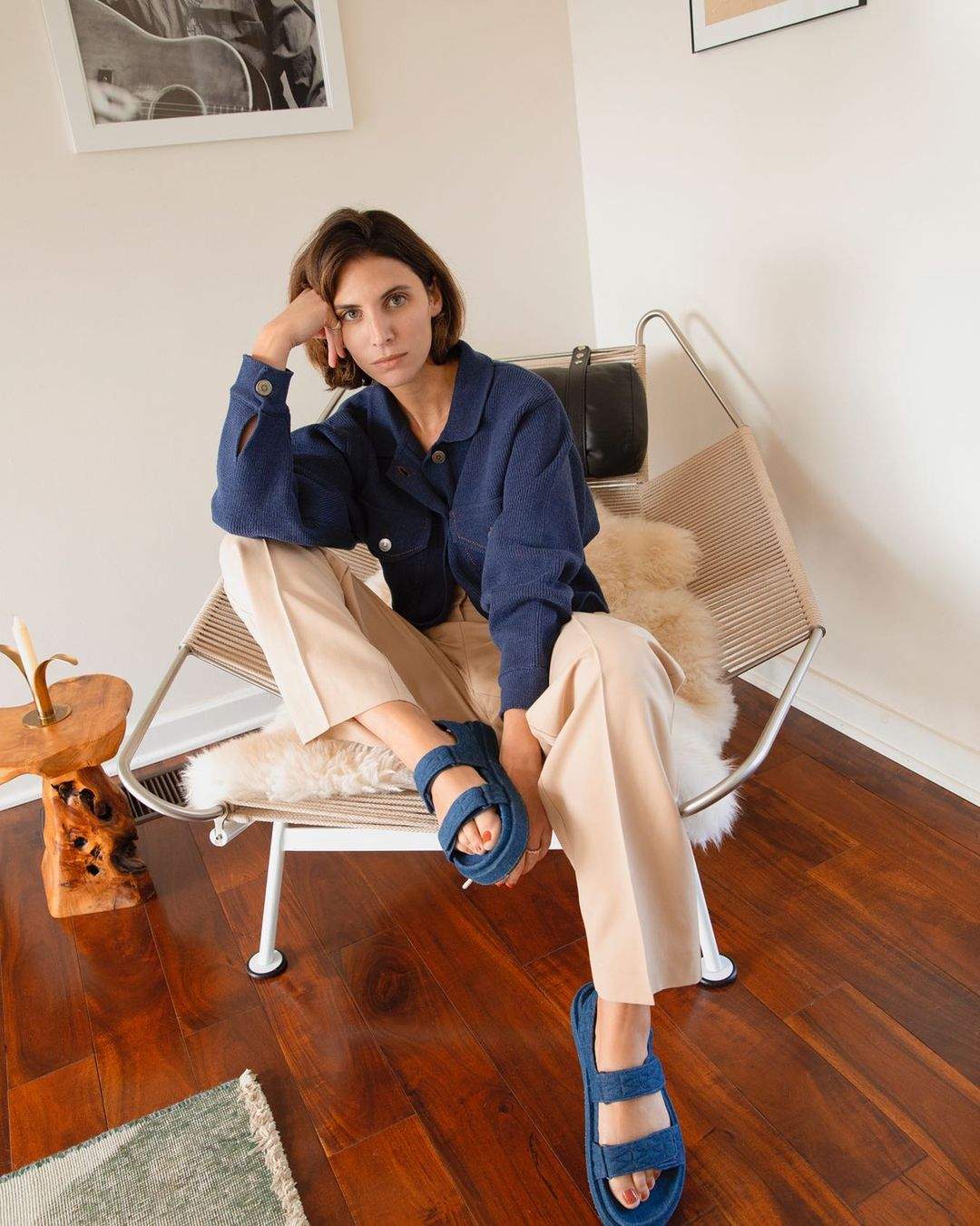 jen-azoulay-mango-denim-cotton-sandal-instagram