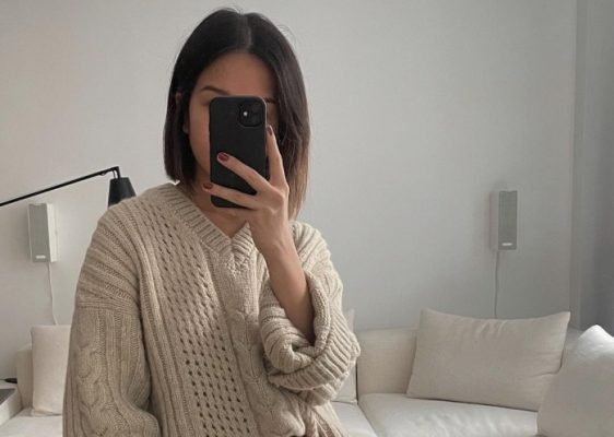 Neutral knits: the Spring staple the cool set is wearing