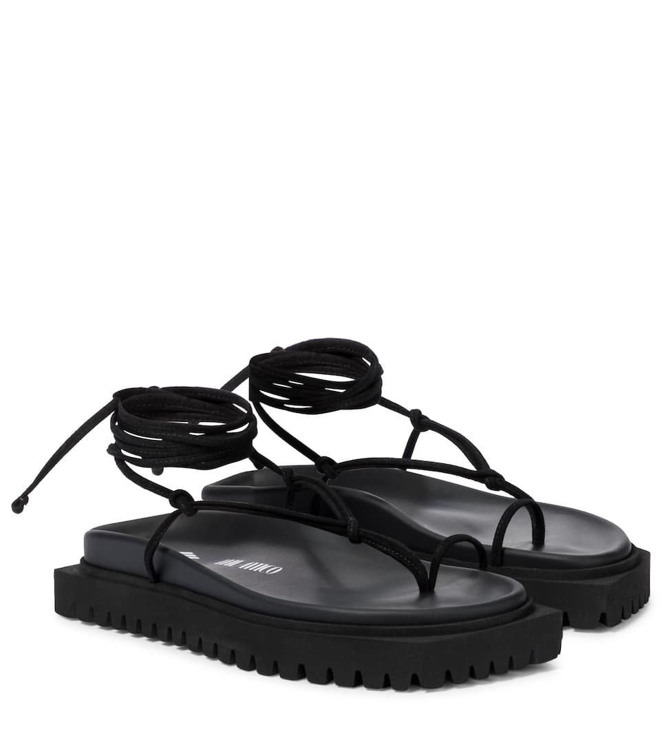 the-attico-open-toe-platform-sandals-black