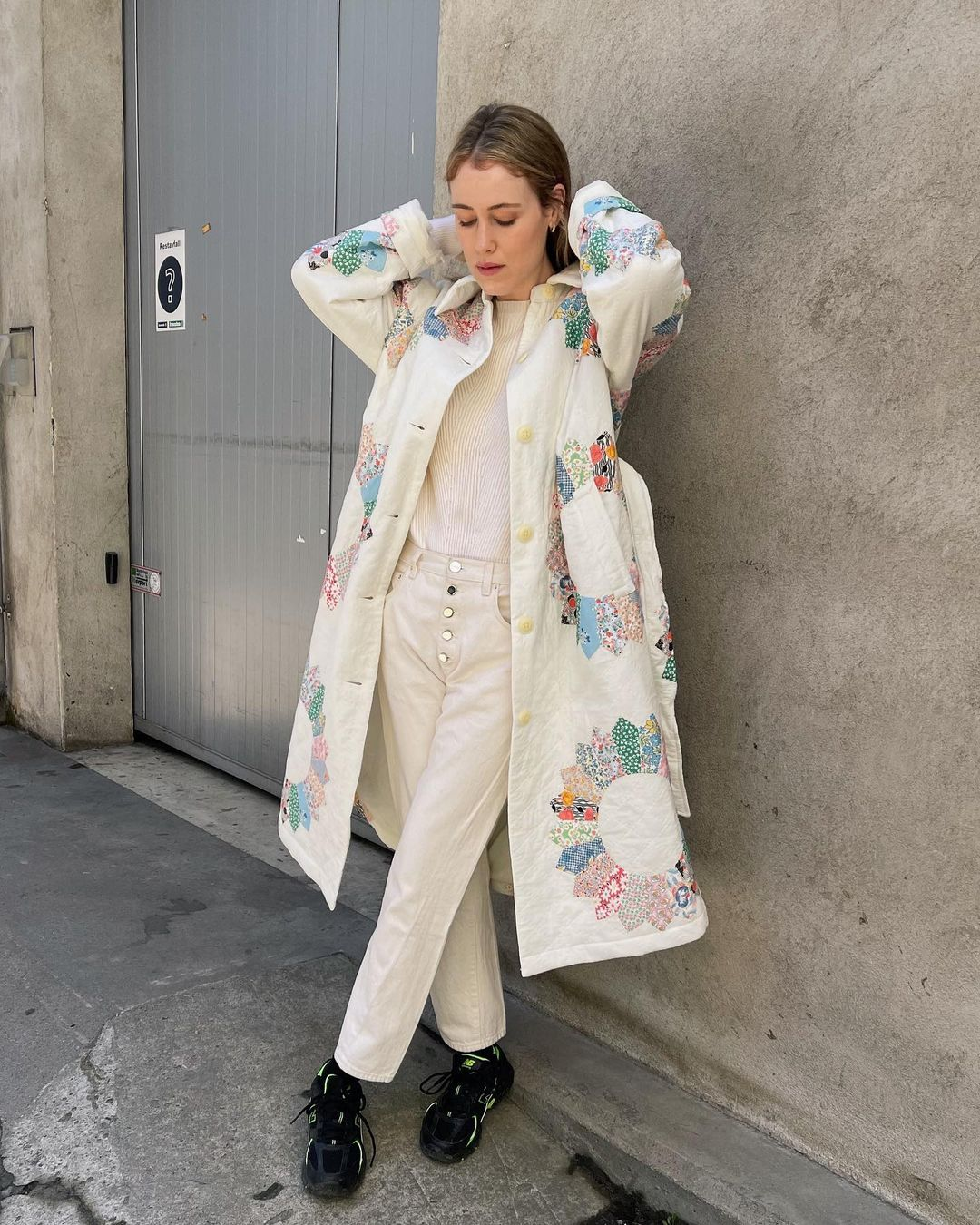 annabel-rosendahl-sea-ny-linden-belted-quilted-patchwork-cotton-coat-instagram