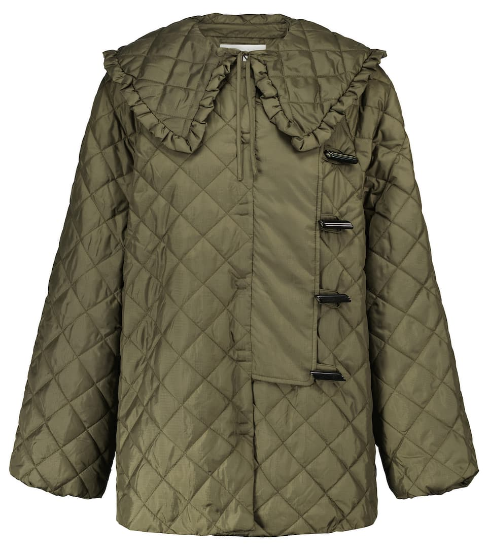 ganni-recycled-quilted-jacket