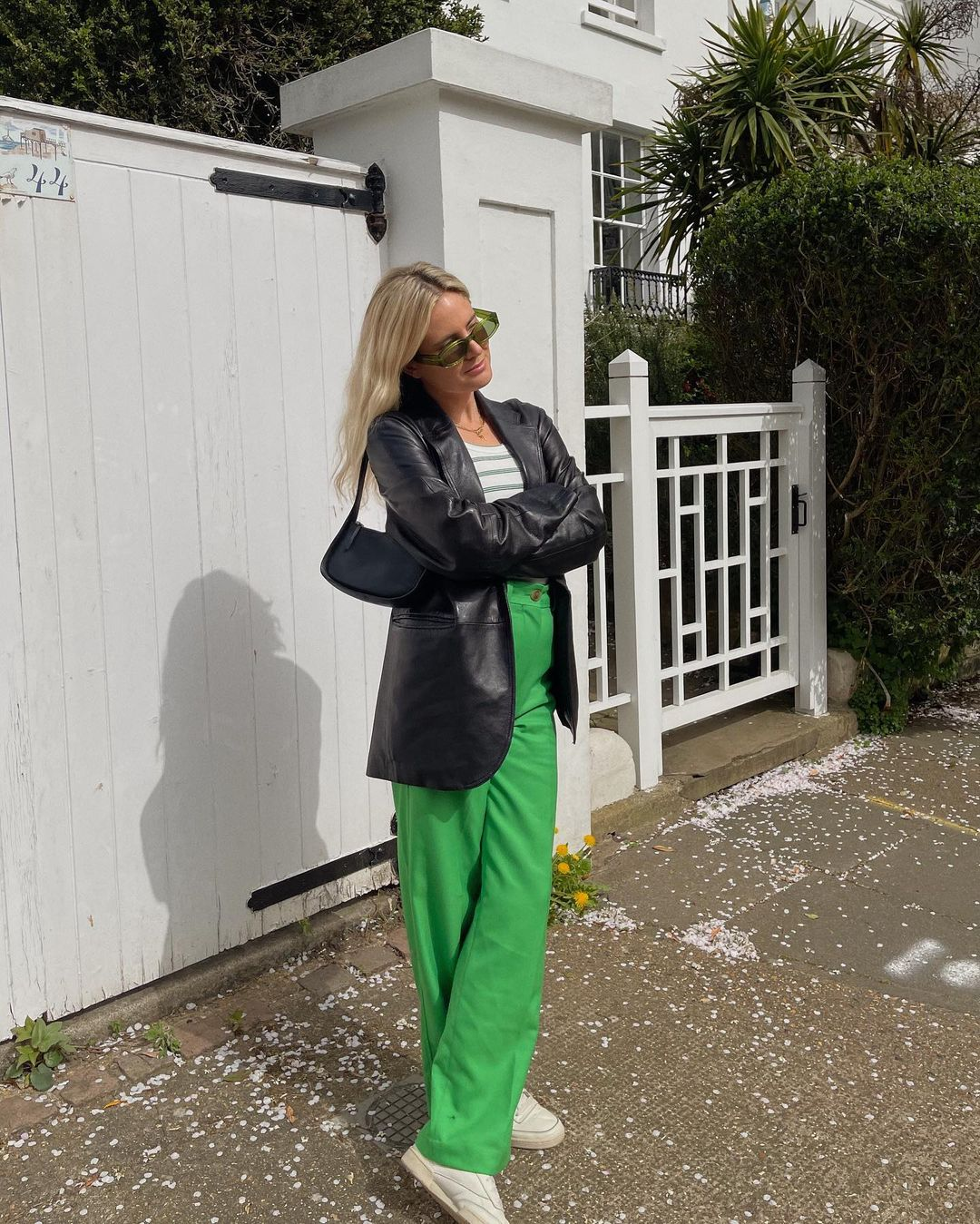 lucy-williams-arket-straight-twill-trousers-green-instagram