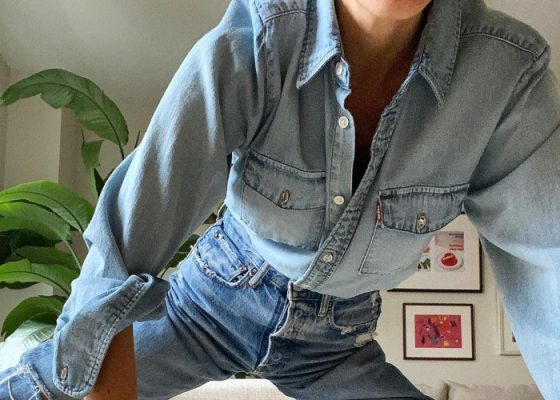 The best jeans outfits I've seen on Instagram this Spring