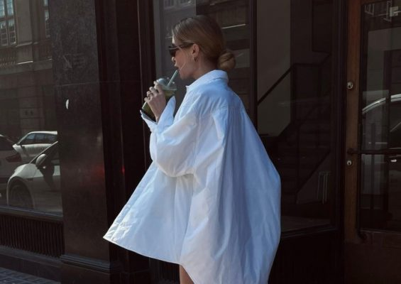 These oversize white shirts are the coolest thing you'll wear this summer