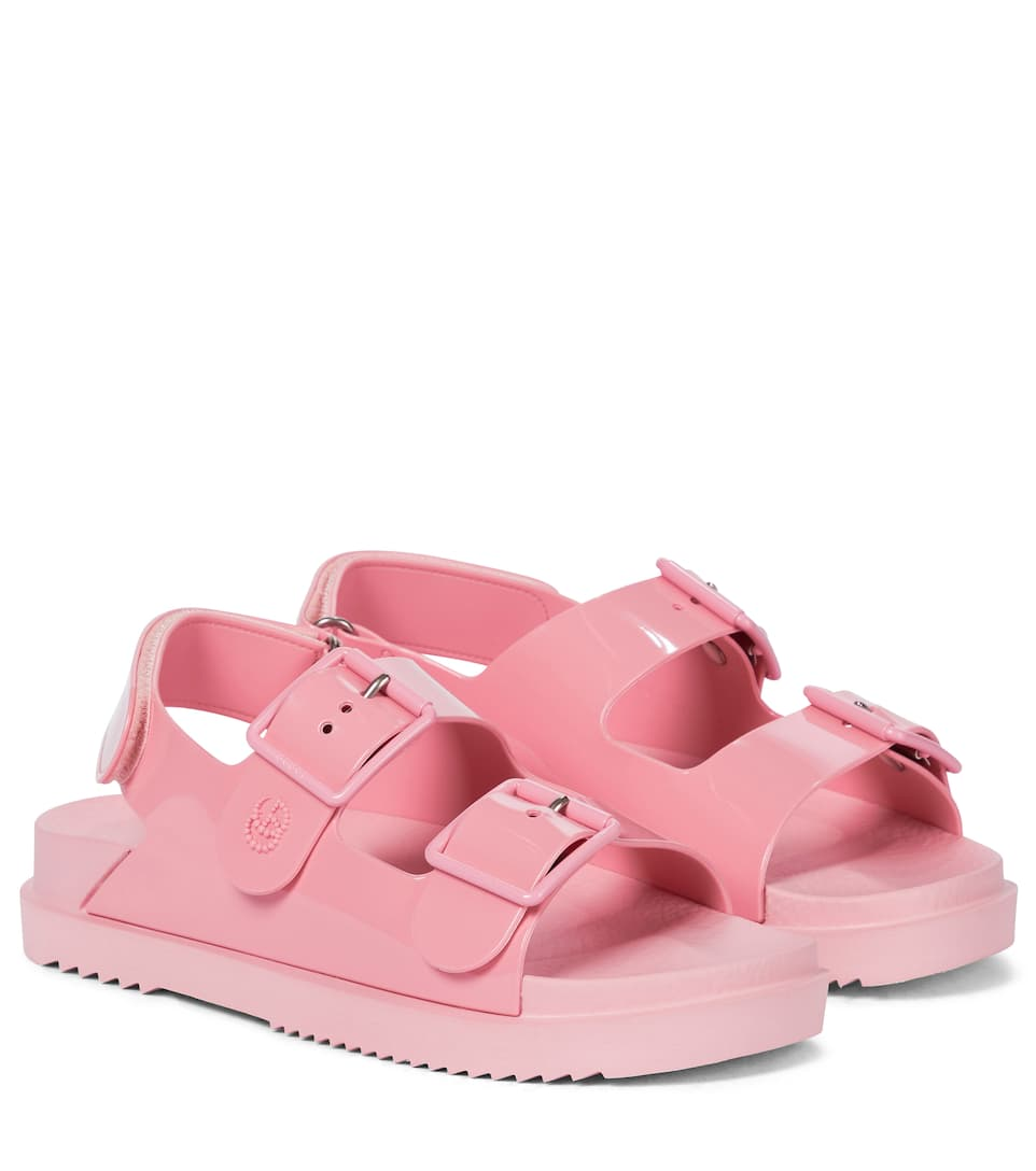 gucci-rubber-sandals-pink