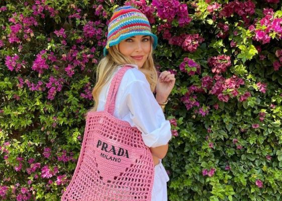 The raffia tote that is taking over Instagram this Summer