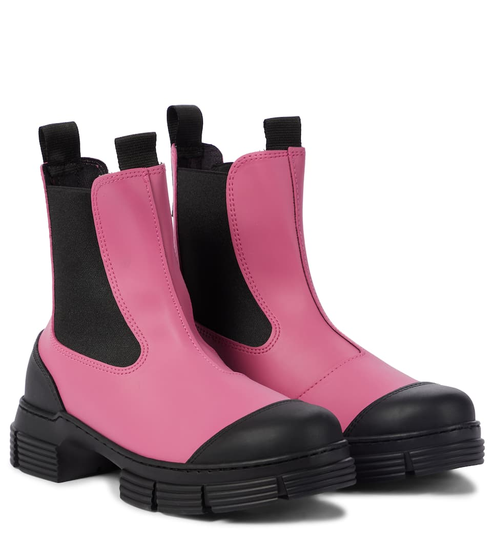 ganni-recycled-rubber-chelsea-boots-pink