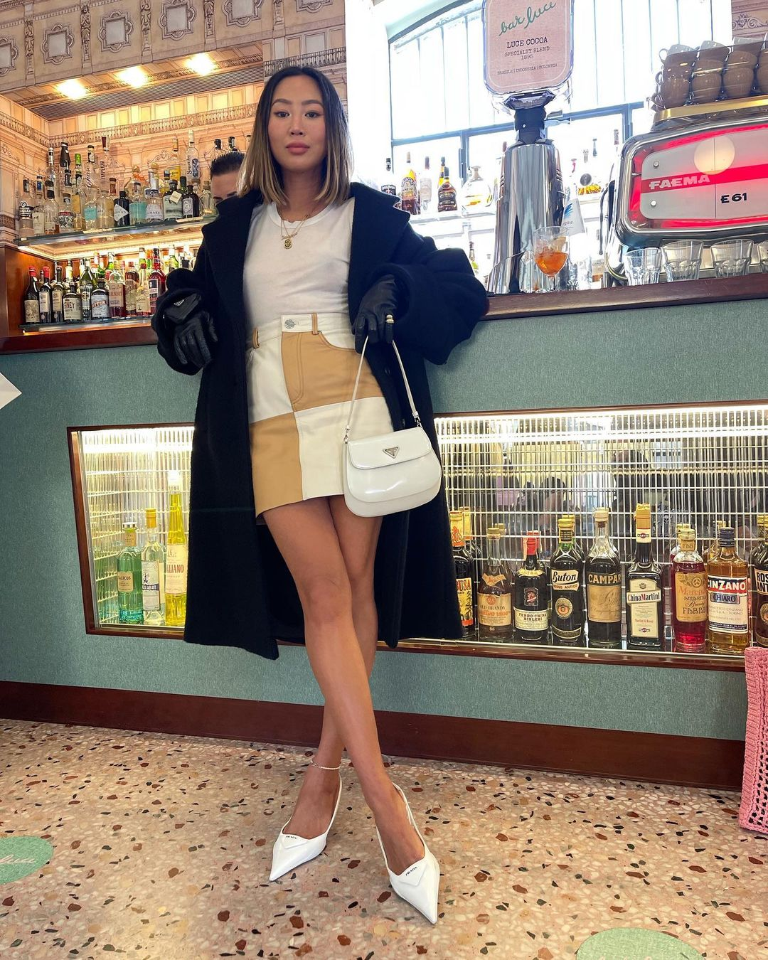 aimee-song-prada-cleo-white-brushed-leather-shoulder-bag-with-flap-instagram