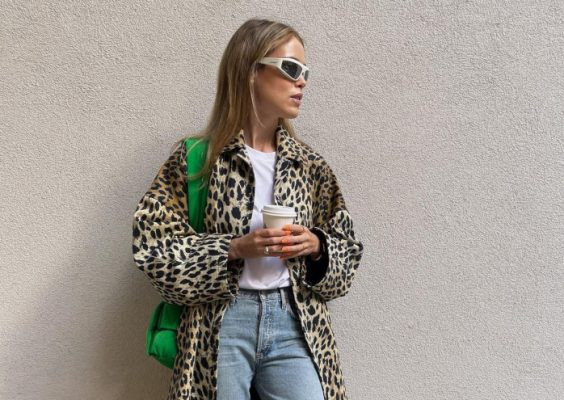 The classic autumn print trend I'm already very into