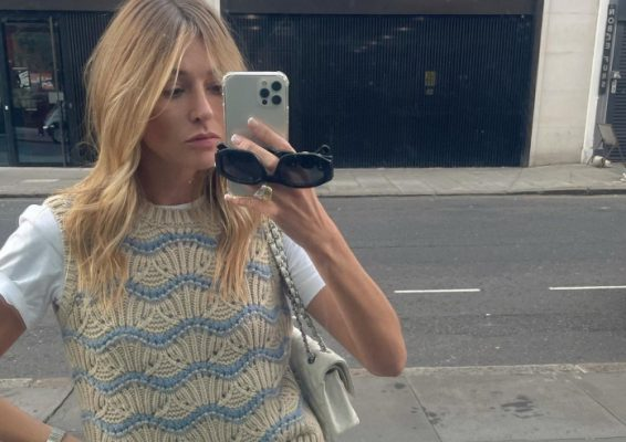 How to wear this Autumn's biggest knitwear trend: Knitted vests