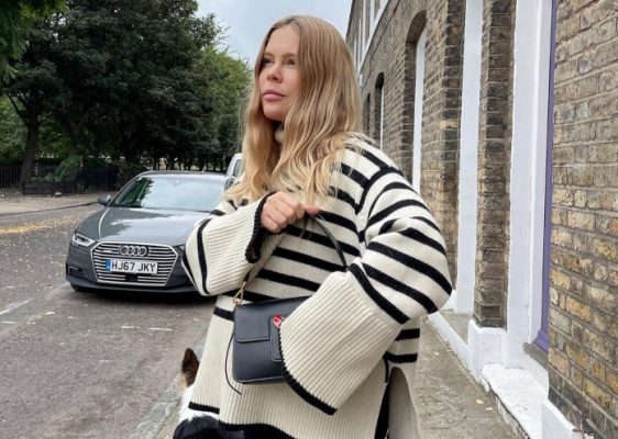 If you only buy a statement knitwear piece this Autumn, make it a striped sweater