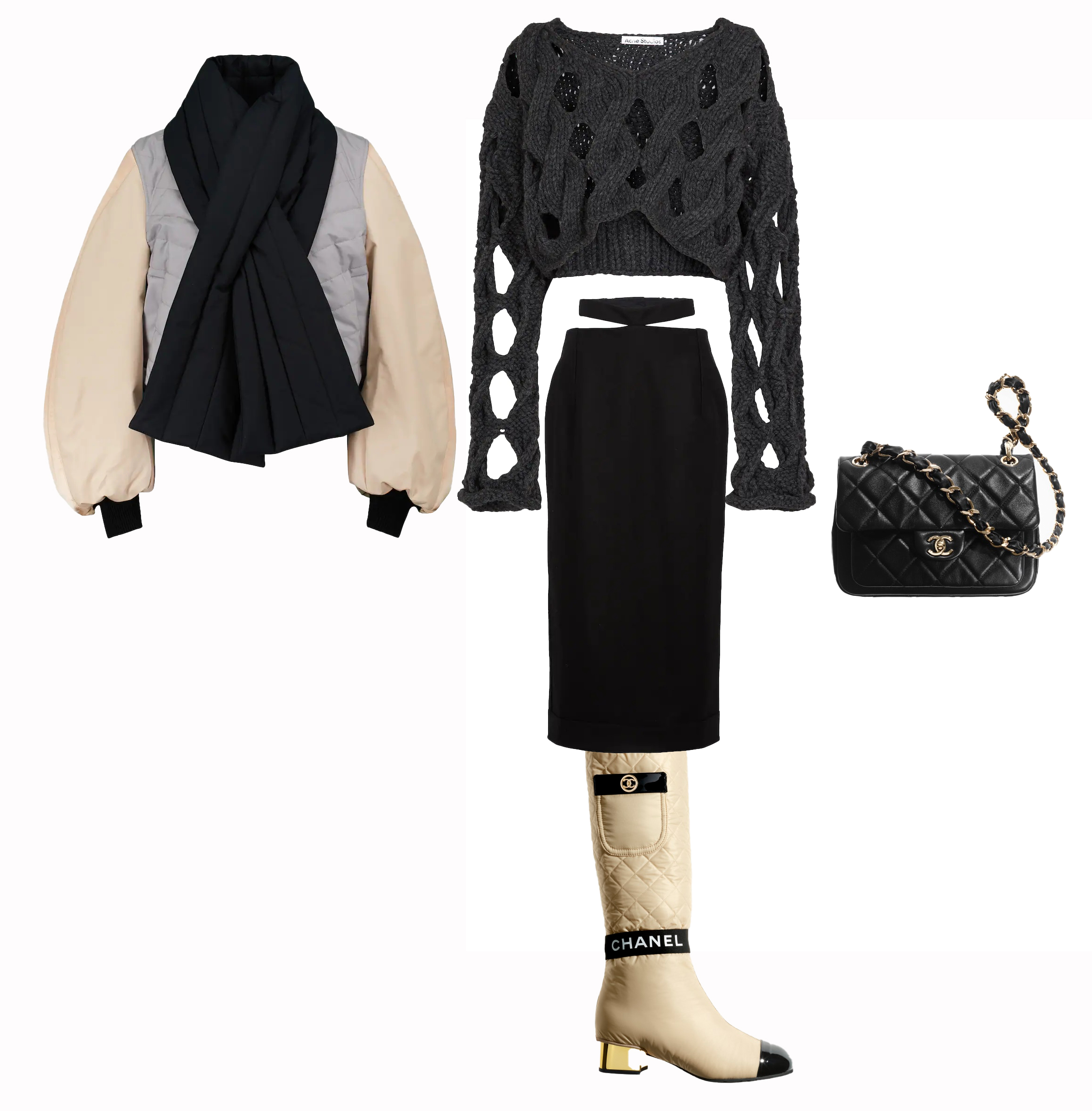 chanel-high-boots-fall-outfit