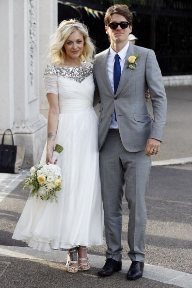 Sightings At The Wedding Of Fearne Cotton And Jesse Wood July 04 2017